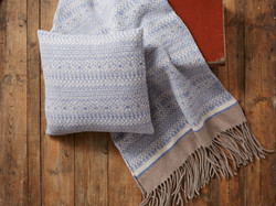 Cozy Knitted Cushion