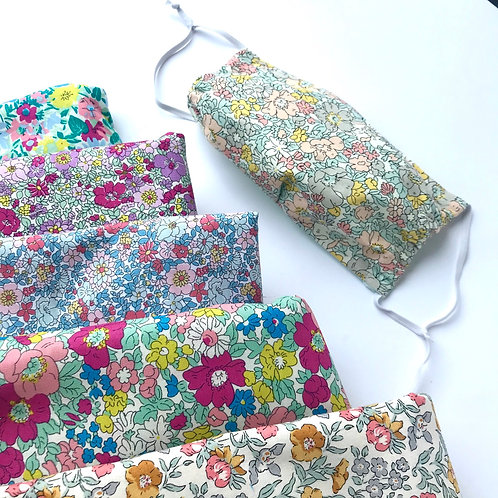 Washable Face Mask in Liberty Print not medical