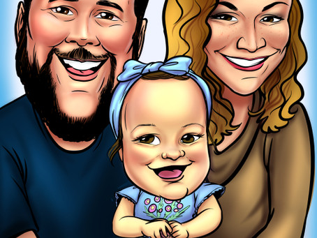 Available for Online Digital Caricatures