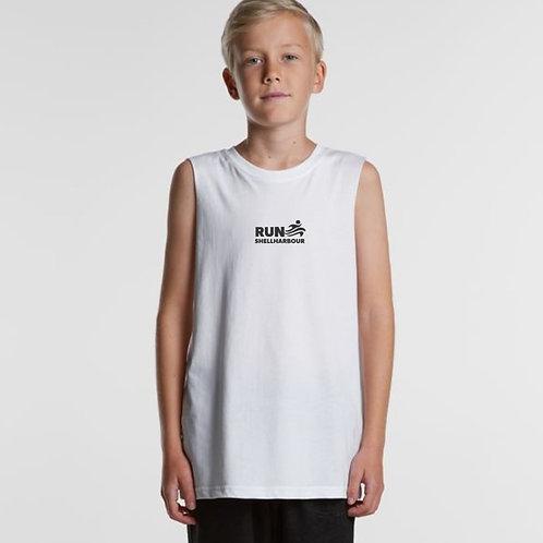 Kids Tank - White