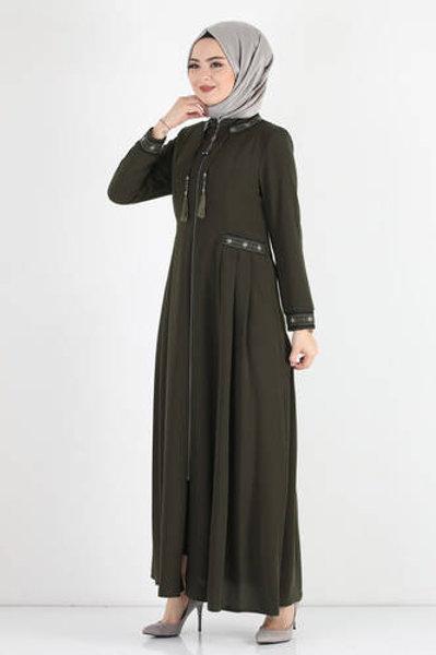 Abaya TSD7023 Khaki