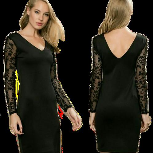Gossip sort kort kjole 3255