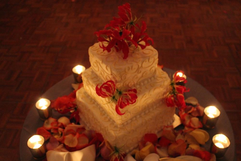 Wedding Floral Cake