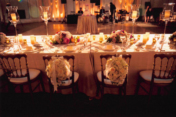 Wedding Head Table Floral