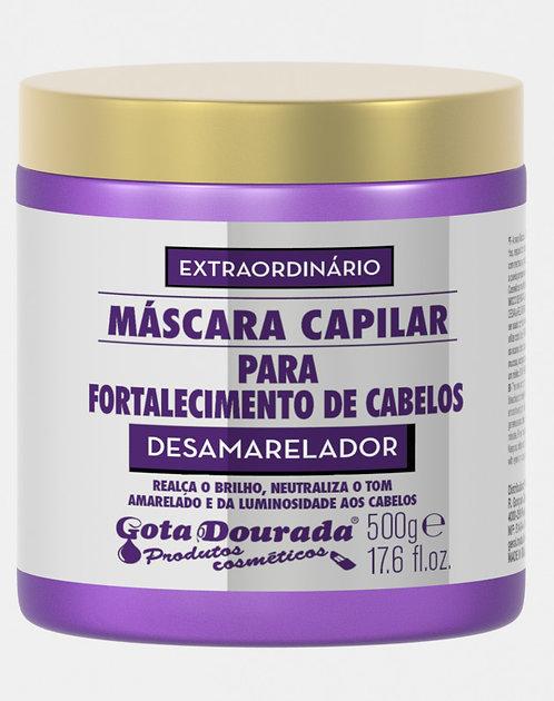 MÁSCARA EXTRAORDINÁRIO DESAMARELADOR 500G