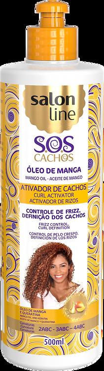 SOS ATIVADOR CACHOS OLEO MANGA TRADICIONAL FRASCO 500ML