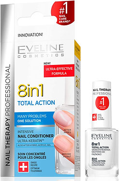 NAIL THERAPY 8 IN 1 TOTAL ACTION 12ML