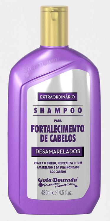 SHAMPOO EXTRAORDINÁRIO DESAMARELADOR 430ML