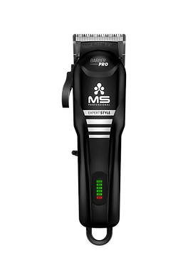BLACK - CORDLESS CLIPPER EXPERT STYLE - MS BARBER PRO