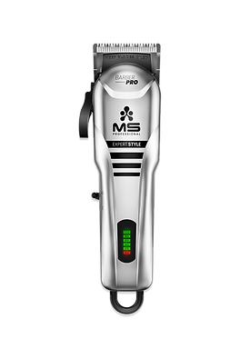 SILVER - CORDLESS CLIPPER EXPERT STYLE - MS BARBER PRO
