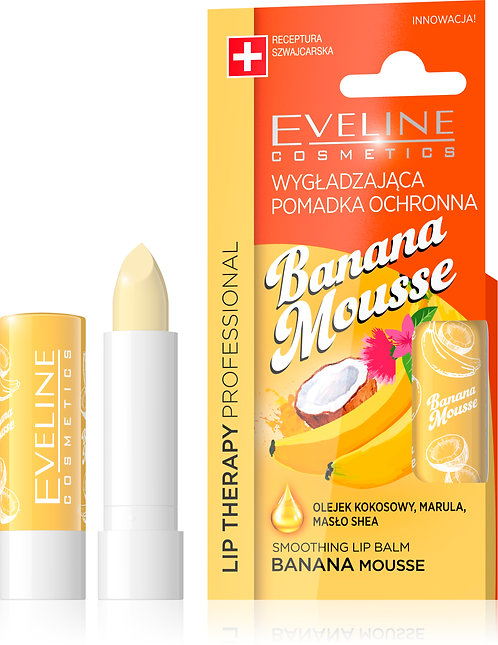 LIP THERAPY SMOOTHING BALM BANANA MOUSSE
