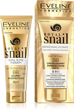 ROYAL SNAIL MATTIFYING BB CREAM AGAINST IMPERFECTIONS 8IN1 50ML