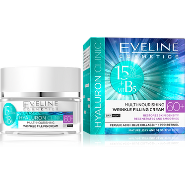 HYALURON CLINIC DAY AND NIGHT CREAM 60+ 50ML