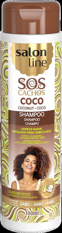 SOS SHAMPOO COCO TRATAMENTO PROFUNDO 300ML