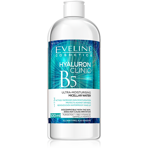 HYALURON CLINIC MICELLAR WATER 500ML