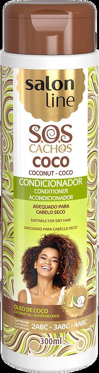 SOS CONDICIONADOR COCO TRATAMENTO PROFUNDO 300ML