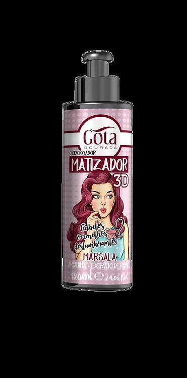 MATIZADOR 3D - MARSALA 120ml