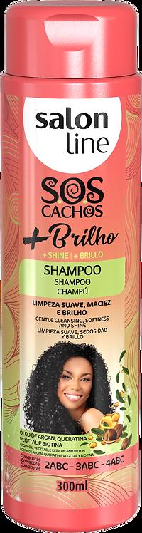 SOS SHAMPOO +BRILHO  300ML
