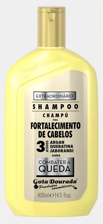 SHAMPOO EXTRAORDINÁRIO 3 ATIVOS 430ML
