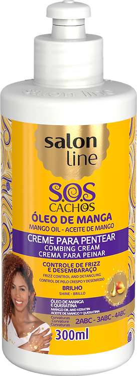 SOS CREME PENTEAR OLEO MANGA TRADICIONAL 300ML