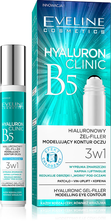 HYALURON CLINIC ROLL-ON EYE GEL