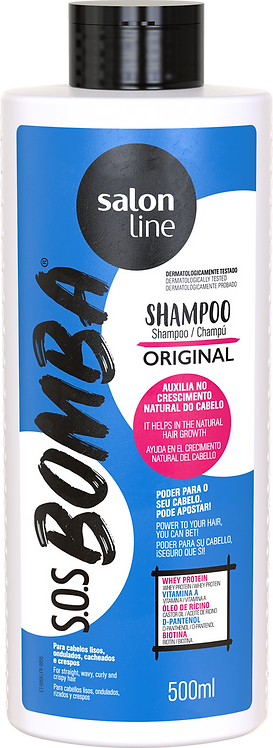 SOS BOMBA SHAMPOO ORIGINAL 500ML