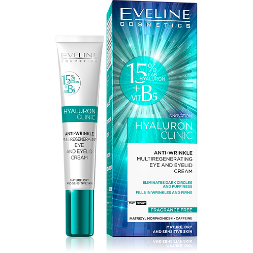 HYALURON CLINIC EYE AND EYELID CREAM 20ML