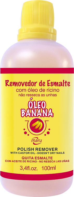 REMOVEDOR VERNIZ OLEO BANANA 100ML