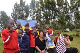 Group shot of Tumaini Junior School Children