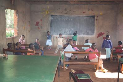 Shalom Orphanage Schoolroom