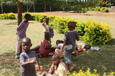Play time at the Shalom Orphanage