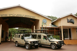 Entering Ngorongoro