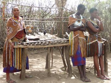 Tanzanian tribal souvenirs