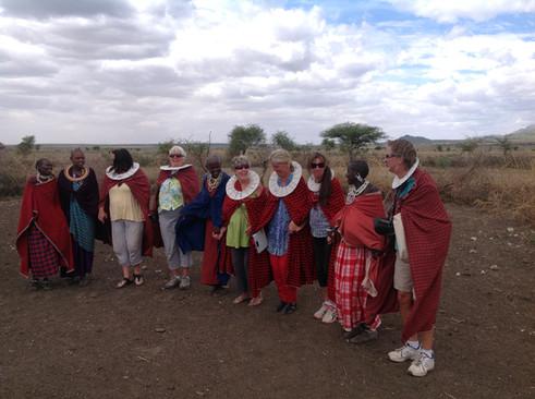 Dress up like a Maasi