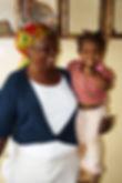 Mama Warren and little orphan Pumba at the Shalom Orphanage, Karatu Tanzania.