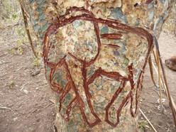 Tribal artwork