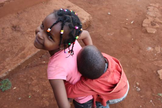 Playtime at the Shalom Orphanage