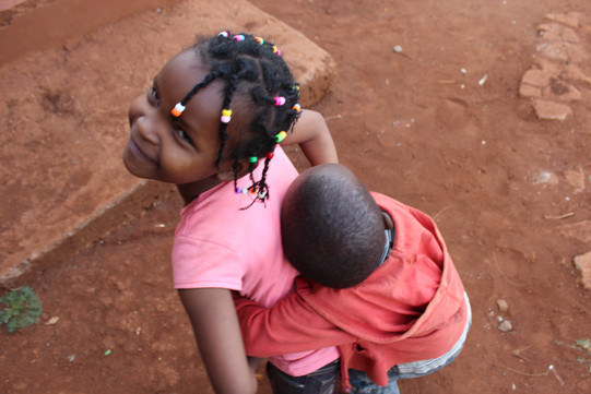 Playtime at the Shalom Orphanage