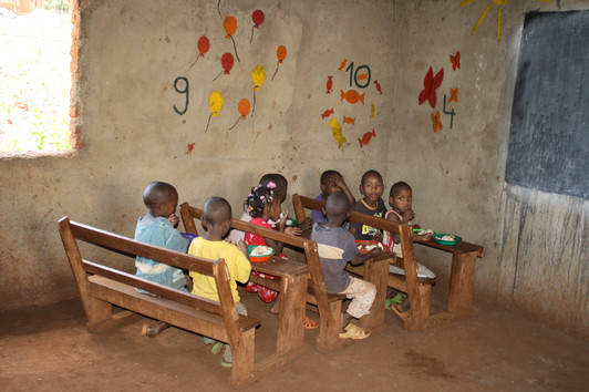 Meal time at Shalom Orphanage