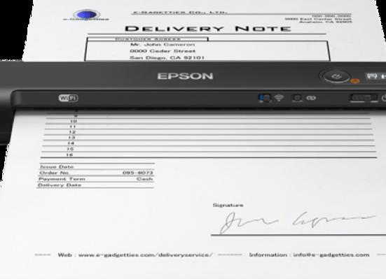 Scanner Portátil Epson ES-60W