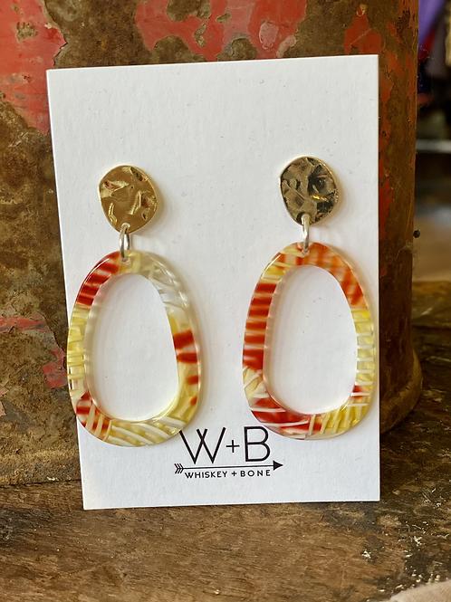 Whiskey + Bone Chiefs Earrings