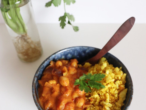 Warming Chickpea Curry