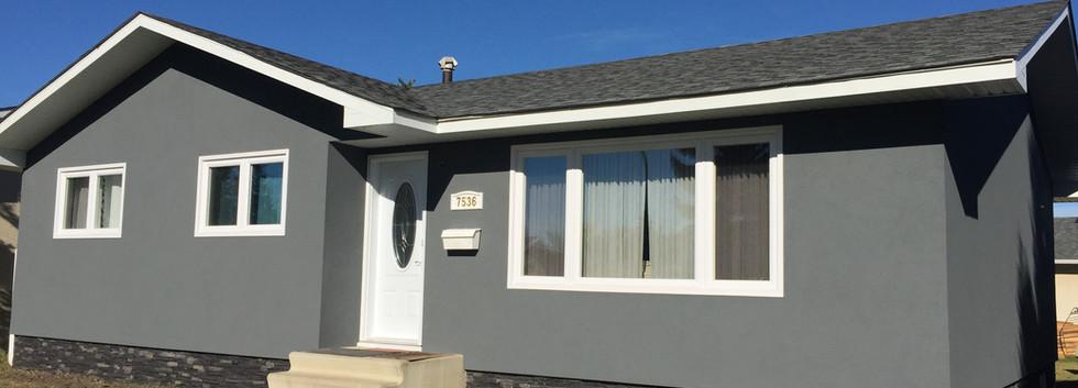 Acrylic Stucco Sunview Windows Edmonton.