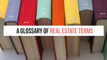 Glossary of Terms for Buying a Home
