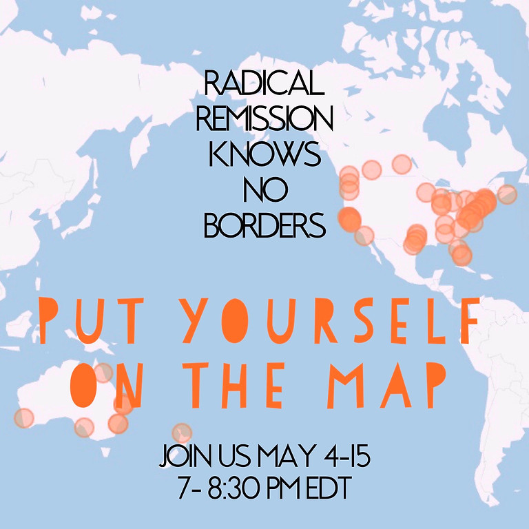 7PM: Radical Remission Live Stream Workshop TWO
