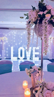 BACK DROPS & TABLE DRESSING