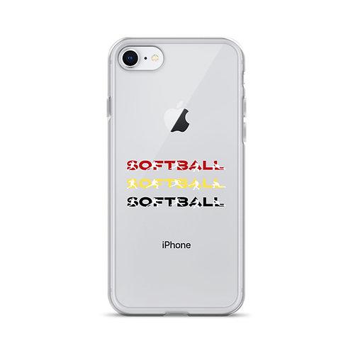 Softball, Softball, Softball iPhone Case