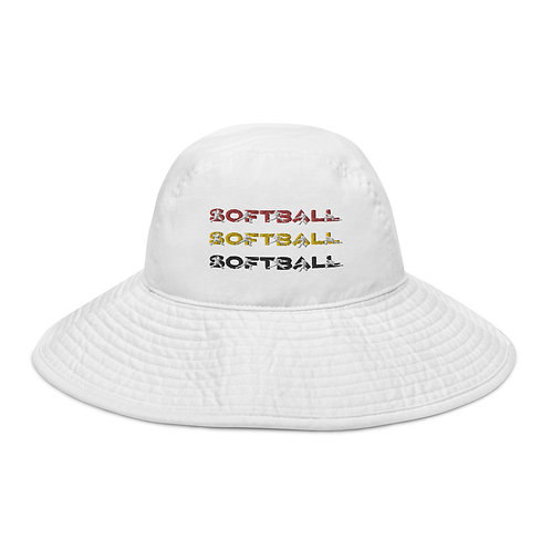 Wide brim Softball, Softball, Softball bucket hat