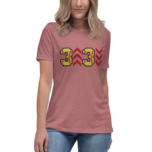 3 up 3 down Relaxed T-Shirt