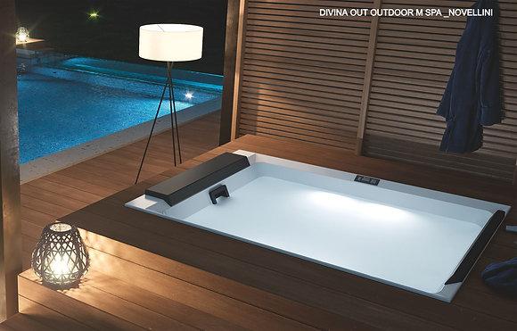vasca idromassaggio da esterno, divina outdoor m spa _ NOVELLINI